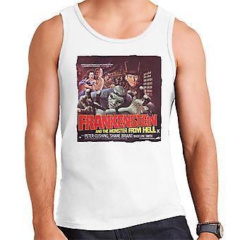 Hammer Horror Films Frankenstein Mostro Da Inferno Uomini Rossi's Vest