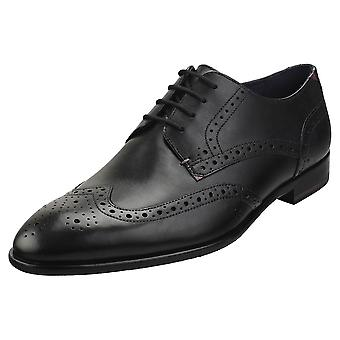 Ted Baker Trvss Mens Brogue Shoes in Black
