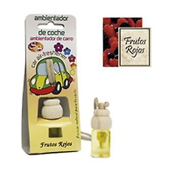 Red fruit car air freshener 1 unit of 7ml (Red Berries)