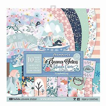 Seamos Felices 12x12 Inch Paper Pack (SBBL61)
