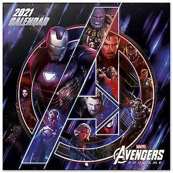 Marvel Avengers Kalender 2021 Officiële kalender 2021, 12 maanden, originele Engelse versie.