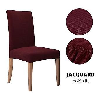 Jacquard Spandex Elastic Plain Dining Chair Cover/slipcover