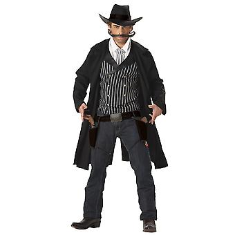 Gunfighter Gunslinger Western Cowboy Rodeo Wild West Mens Costume