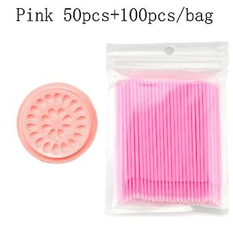 Disposable Micro Brush Eyelashes Extension - Individual Lash Removing Swab