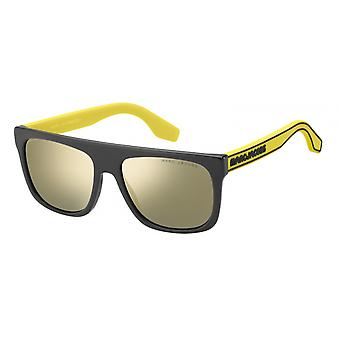Sunglasses Unisex light durable black/yellow