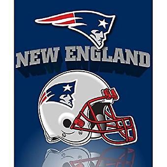 New England Patriots NFL Northwest Fleece Throw