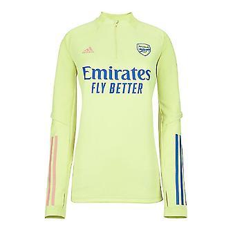2020-2021 Arsenal Adidas Training Top (žlutá) - Dámy