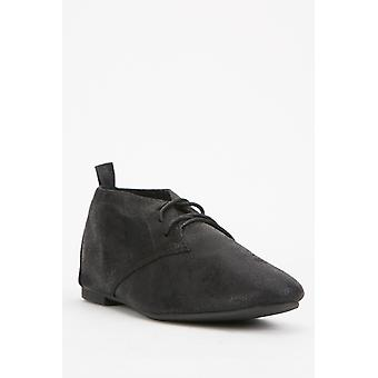 Black Lace Up Shoes