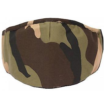 David Van Hagen Camouflage Relusiable Face Mask - Vert