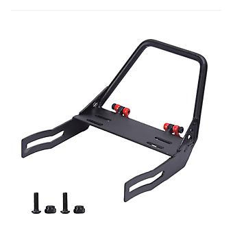 Front Metal Bumper Replacement for Axial SCX10 Jeep Wrangler Black