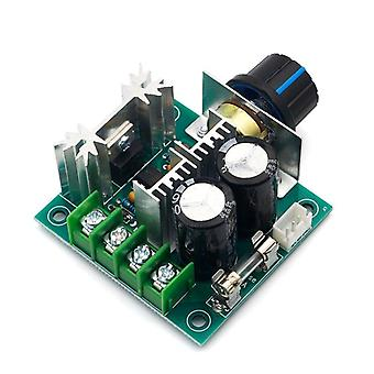 Dc 12v/24v/30v/40v 13khz Auto Pwm- Dc Motor Speed Regulator Governor Speed Controller Switch 10a 50v 1000uf