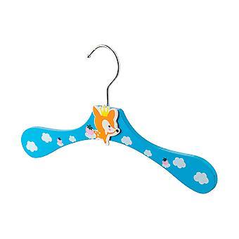 Cartoon Wooden Children's Coat / Clothes Hanger - Fox
