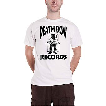 Death Row Records T Shirt Logo new Official Mens White