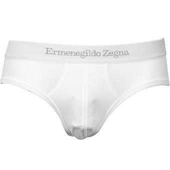 Ermenegildo Zegna #UseTheExisting Midi Brief, Branco