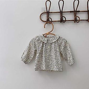Baby T-shirt Tops Autumn Fashion Shirts, Infant Long Sleeve Open Stitch Onesies