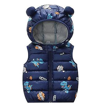 Baby Winter Clothes, Cartoon Printed Warm Vest