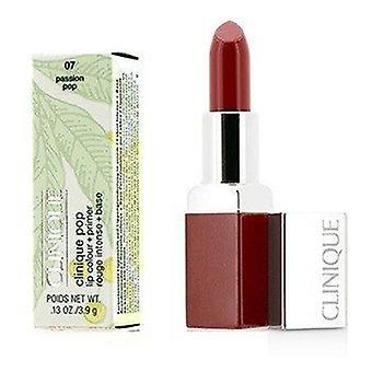 Clinique Pop Lip Colour + Primer - # 07 Passion Pop 3.9g or 0.13oz