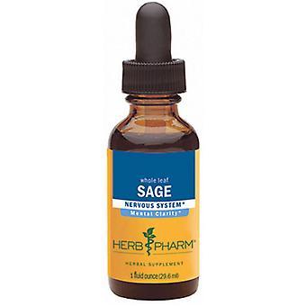 Herb Pharm Salbei Extrakt, 1 Oz