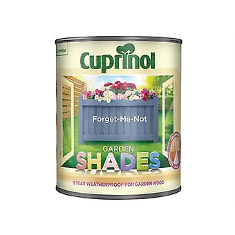 Cuprinol Garden Shades Forget-Me-Not 1 Litre CUPGSFOR1L