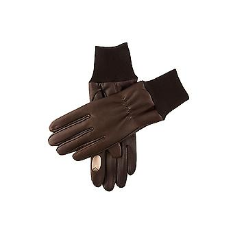 Men's Fleece Lined Right Hand Leather Shooting Gloves