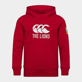 Canterbury britiske og irske Lions Logo Hoodie Junior Boys