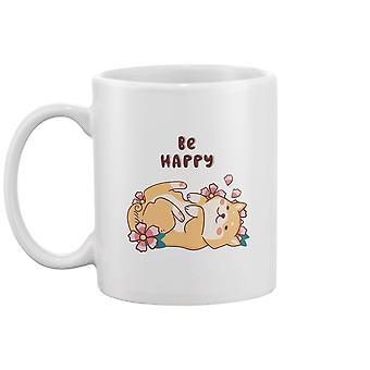 تكون سعيدة ، لطيف شيبا إينو القدح - صورة من قبل Shutterstock
