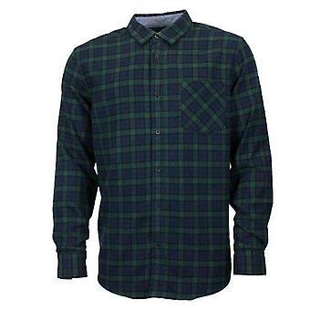Herren Doppel gebürstet Baumwolle Flanell Karo Shirt