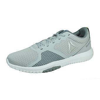 Reebok Flexagon Force Mens Running Shoes / Trainers - Grey