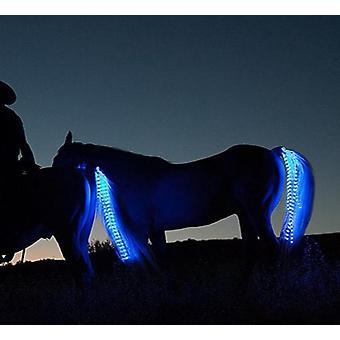Usb Charging-led Shining Band Of Ponytail, Decorative Lights