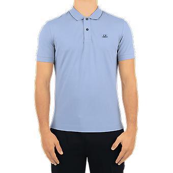 C.P.Company Polo - Short Sleeve Blue 09CMPL027A005263W838 Top