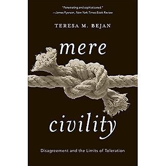 Louter beleefdheid: Onenigheid en de grenzen van tolerantie