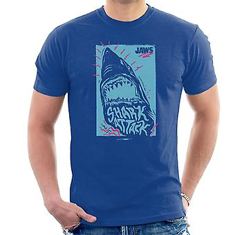 Jaws Shark Attack Wave Men's T-Shirt