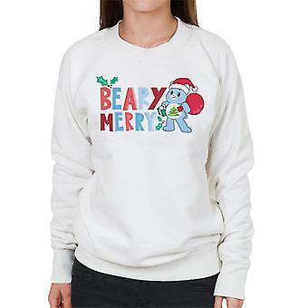 Care Bears Unlock The Magic Christmas Beary Merry Women's Sweatshirt