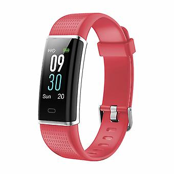 Aquarius AQ200 ColorScreen Frecuencia cardíaca multifuncional&SleepMonitor Tracker, Rojo