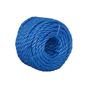 Kendon BR820 3ST Blue Polypropylene Rope 8mm x 20m RD19509