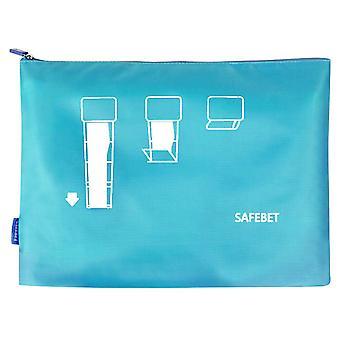 Flo Travel Garment Bag Blue