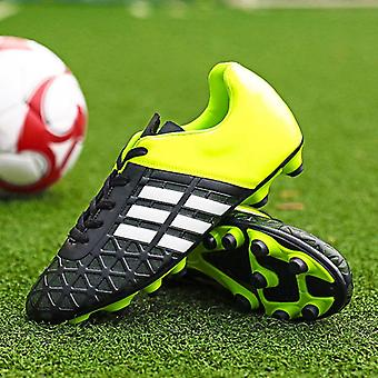 Football Soccer Cleats Long Spikes Sneakers Soft Indoor Footwear Boots