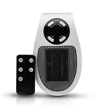 Calentador de enchufe cerámico Aquarius, termostato ajustable, temporizador de 12 horas y pantalla LED