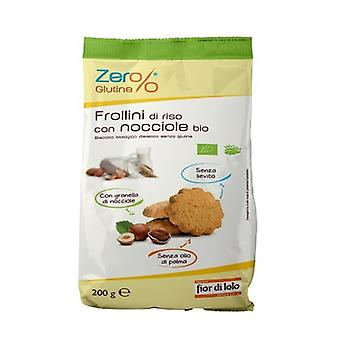 Rice biscuits with hazelnuts 200 g