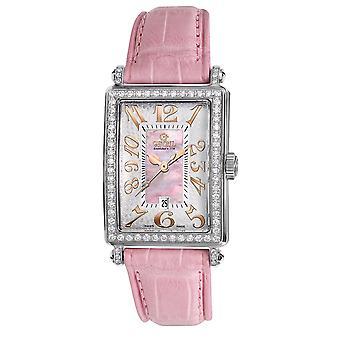 Gevril Women's 7248RL Mini Quartz Avenue of Americas Diamond Watch