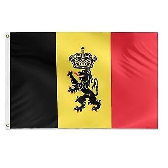 Belgian Flag 3x5 Feet