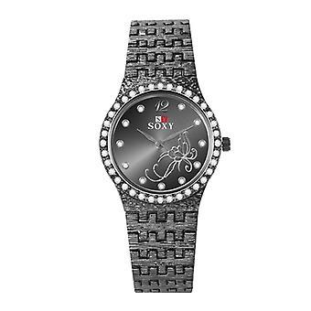 Nyt armbånd ure, Fashion Rhinestone Flower Butterfly Udsøgt Casual