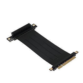 High Quality PCI-e PCI Express 8X Extension Cable 270�� Reverse PCI-E Slot