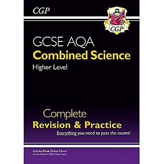 New 9-1 GCSE Combined Science: AQA Higher Complete Revision & Practice (with Online Edition)