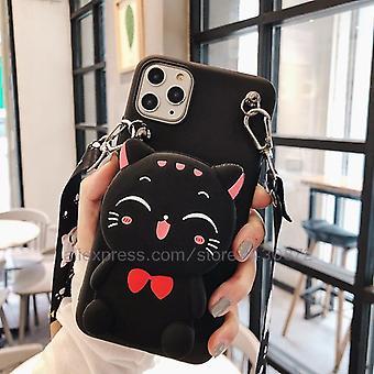 3d Cartoon Münze Taschen weiche Silikon Handytasche für Xiaomi Redmi 8a 7a 6a 5a 4a 8