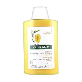 Klorane Mango Butter Shampoo 200 ml