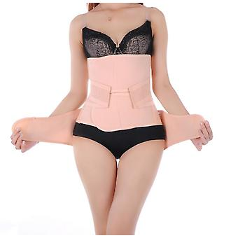 2 In 1 Women Postpartum Girdle Corset Recovery Belly Band Wrap Belt