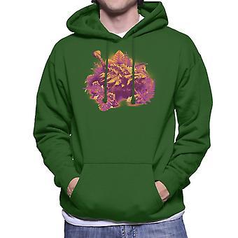 Jurassic Park Ankylosaurus Männer's Kapuzen Sweatshirt
