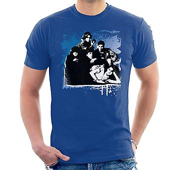 The Breakfast Club Characters Together Brush Stroke Men's T-Shirt