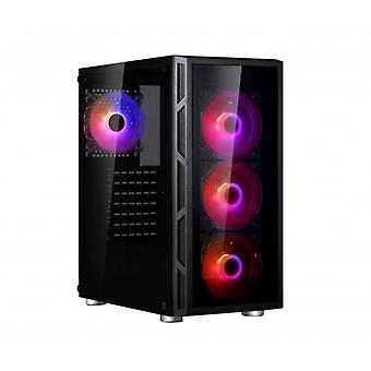 Spire Vision 7025 RGB: glass design miditors with RGB lighting